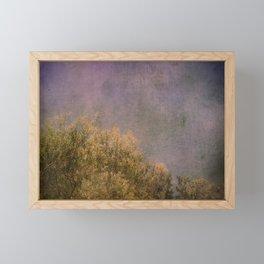 Abstract trees Framed Mini Art Print