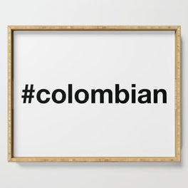 COLOMBIA Serving Tray