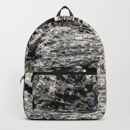 Watercolor Rock, Coral Fragments 02, Bonaire, Dutch West Indies Backpack
