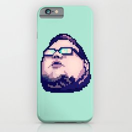 Jon Sudano pixelhead iPhone Case