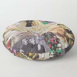 Art & History Moodboard Floor Pillow