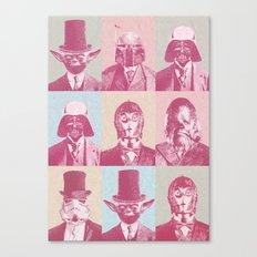 Pop Wars Canvas Print