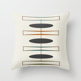Mid-Century Modern 1.1 Throw Pillow