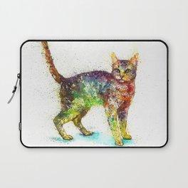 Cat kitten abstract Laptop Sleeve