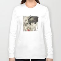 monster hunter Long Sleeve T-shirts featuring The Hunter by Mar del Valle