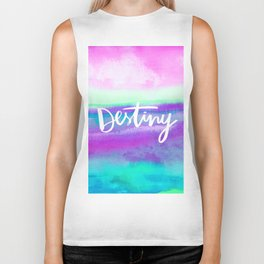 Destiny [Collaboration with Jacqueline Maldonado] Biker Tank