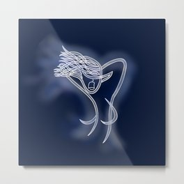 Bean Sidhe (Banshee) Knot Metal Print