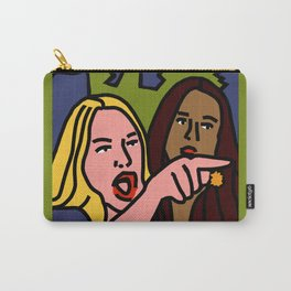 Woman Yelling Carry-All Pouch