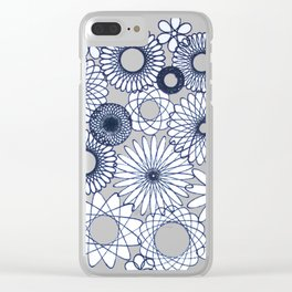 #24 Vase of flowers Clear iPhone Case