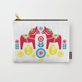 Swedish Dalahäst Carry-All Pouch