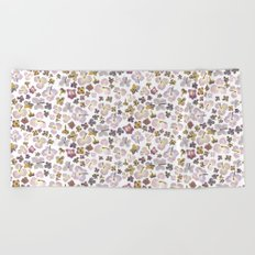Scattered Hydrangea Beach Towel