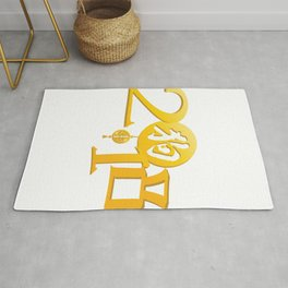 Year Of The Dog 2018 Chinese New Year Symbol Rug