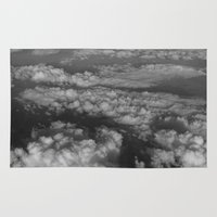 cloud Area & Throw Rugs featuring cloud by habish