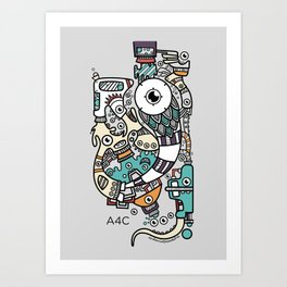 Animation for a Cause poster Art Print