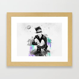 Planet.X2Y23-Lost Framed Art Print