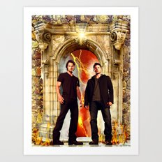The Winchester Gate Art Print