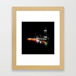 Brisbane River Print Framed Art Print