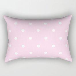 Dotty Pink Rectangular Pillow