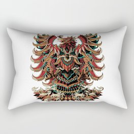 Heraldric Phoenix Rectangular Pillow