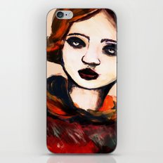 Charcoal V iPhone & iPod Skin