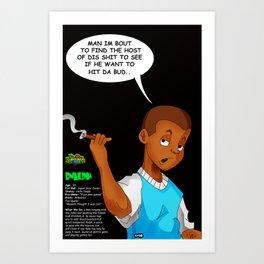 "Planet Smokas presents Daze of Our Livez - Ralph ""What We Do"" Profile Page 5/10 Art Print"