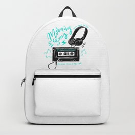 80's rock anthems walkman Backpack