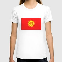 Kyrgyzstan country flag T-shirt