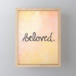 Beloved Framed Mini Art Print