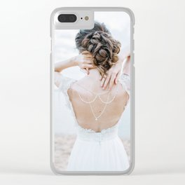Wedding Background 04 Clear iPhone Case