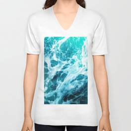 Out there in the Ocean Unisex V-Neck