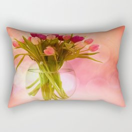A Bloom for Spring Rectangular Pillow