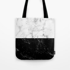 Marble Split Tote Bag