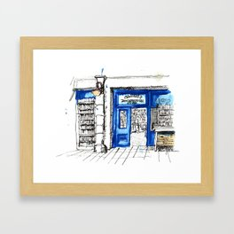 Galway girl Framed Art Print