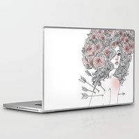 arrow Laptop & iPad Skins featuring Arrow by Vic Hollins Art
