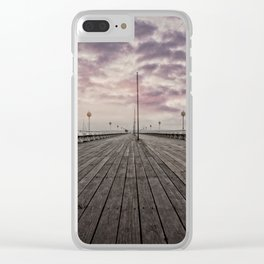 Princess Pier Torquay Clear iPhone Case