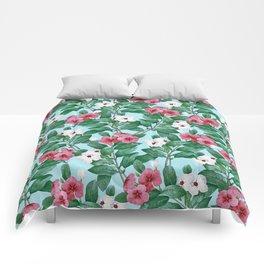 Flower garden II Comforters