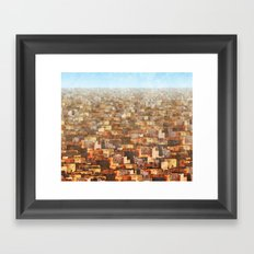 Mexico City Framed Art Print