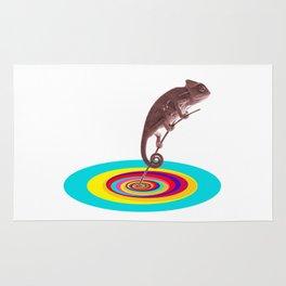 Psychedelic Chameleon Rug