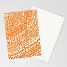 Orange Pulse o3. Stationery Cards
