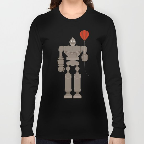 The Robot and The Balloon Long Sleeve T-shirt