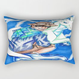 Master of Lightning Rectangular Pillow