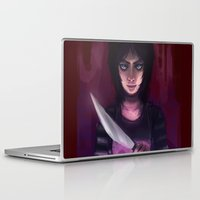 mad Laptop & iPad Skins featuring Mad Mad Mad by AlaisL