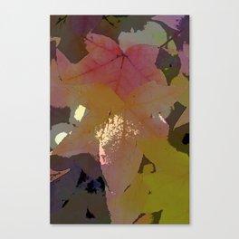 Leaves 8 Canvas Print