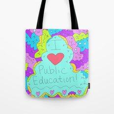 I Love Public Education Tote Bag
