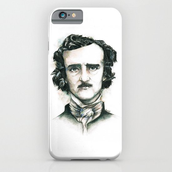 Edgar Allan Poe and Ravens iPhone & iPod Case