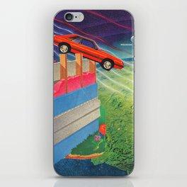 Intergalactic Travel iPhone Skin
