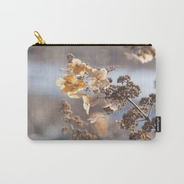 Sunlight through Dried Flowers Carry-All Pouch