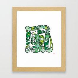 風 - WIND Framed Art Print