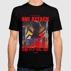 Ant Attack Black Mens Fitted Tee X-LARGE