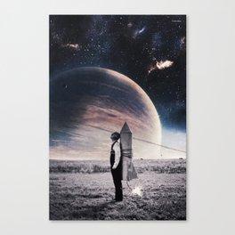Take off ... Canvas Print